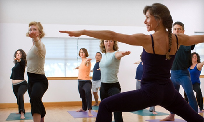 Eccentric Fitness - Bartlett Station: 10 or 20 Yoga and Pole Classes at Eccentric Fitness in Bartlett (Up to 76% Off)