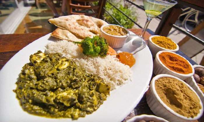Mint Leaf - North Berkeley: $15 for $30 Worth of Indian Fare and Drinks at Mint Leaf in Berkeley