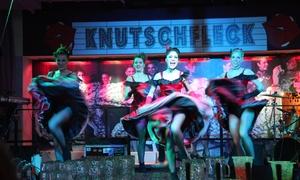 Knutschfleck Cocktailbörse Berlin: 3 Std. Berlin-Varieté mit Cocktail für 2 oder 4 Personen in der Knutschfleck Cocktailbörse Berlin (bis zu 70% sparen*)