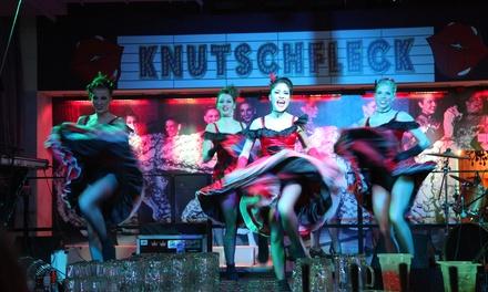 3 Std. Berlin-Varieté mit Cocktail für 2 oder 4 Personen in der Knutschfleck Cocktailbörse Berlin (bis zu 70% sparen*)