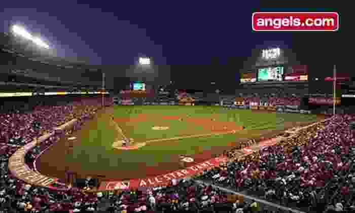 Los Angeles Angels - Angel Stadium of Anaheim: Los Angeles Angels of Anaheim Game at Angels Stadium of Anaheim on August 12 or 15 (Up to 51% Off)