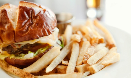 Pub Food and Drinks for Two, Four, or Carry-Out at Gatsby's Pub (Up to 45% Off)