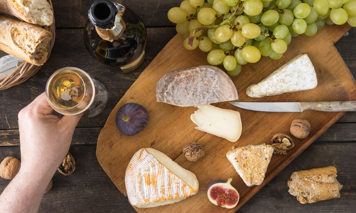 Chocolate & Vines - East Avenue: $20 for $30 Worth of European Desserts, Chocolate, Cheese, and Wine at Chocolate & Vines
