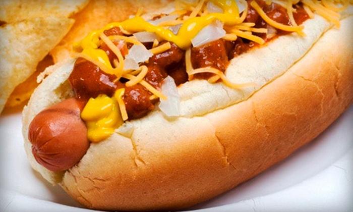 Papaya Joe's - Greenburgh: $10 for Two $10 Groupons for Hot Dogs and Burgers at Papaya Joe's ($20 Total Value)