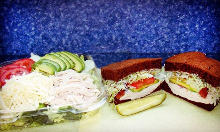 Vista Ice Box Deli  Jr. - Vista: Three Groupons, Each Good for $8 Worth of Sandwiches and Deli Food at Vista Ice Box Deli Jr. (Half Off)