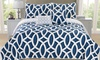 Printed Quilted Bedspread Set (5-Piece)