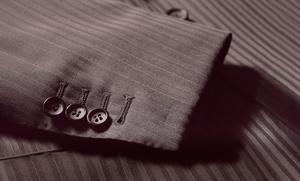 Traje a medida con chaqueta y pantalón por 359 €, con camisa por 399 € y con americana y 2 pantalones por 469 €