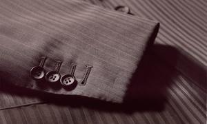 Señor: Traje a medida con chaqueta y pantalón por 359 €, con camisa por 399 € y con americana y 2 pantalones por 469 €