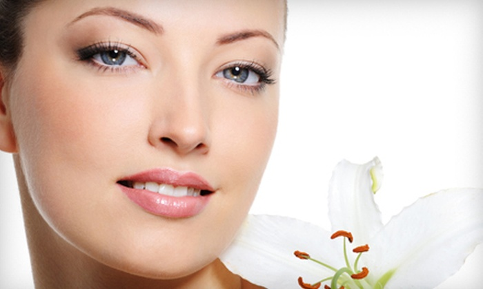 New York Fashion Beauty - Garment District: Essence or Collagen Facial with Choice of Shoulder Massage or Eye Treatment at New York Fashion Beauty (Up to 58% Off)