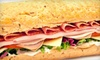 Up to 53% Off Sandwiches at The Back Alley Gourmet