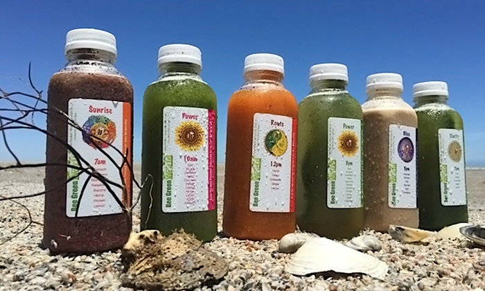 Bee Green - Village: Three-, Five-, or Seven-Day Juice Cleanse from Bee Green World (Up to 52% Off)