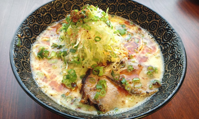 Takahashiya Tonkotsu Ramen - Diamond Head - Kapahulu - St. Louis: Ramen Dishes for Two or Four at Takahashiya Tonkotsu Ramen (Up to 54% Off)