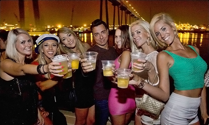 California Nightlife - The Inspiration Yacht: $19 for Three-Hour Party Cruises from California Nightlife ($40 Value)