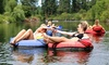 Sound Excursions - Multiple Locations: Leavenworth River Tubing Trip with Cookout for One, Two, or Four from Sound Excursions (Up to 27% Off)