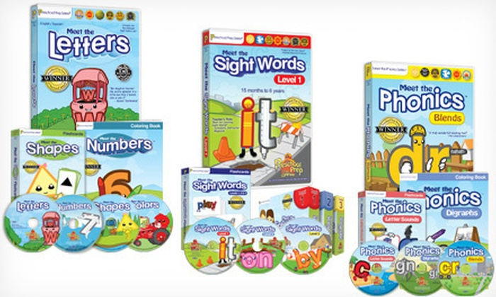 Preschool Prep Bundles: Preschool Prep Bundles (Up to 68% Off). Three Options Available. Free Shipping.