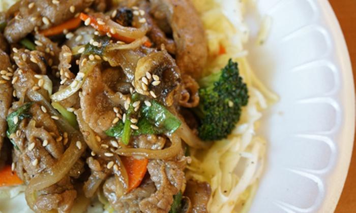 Bop & Gogi - Korean Kitchen & Grill - Centennial: Korean Meal for Two, Four, or Six at Bop & Gogi - Korean Kitchen & Grill (49% Off)
