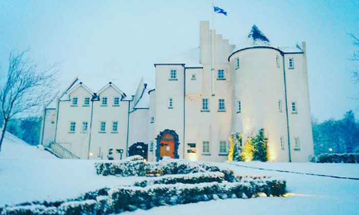 Glenskirlie House & Castle - Merchandising (UK): Stirlingshire: 1 or 2 Nights For 2 With Breakfast and Chocolates from £99 at Glenskirlie House & Castle (Up to 54% Off)
