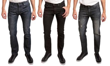 Indigo Star Men's Slim & Skinny Fit Jeans