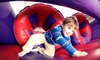 BounceU - Multiple Locations: $25 for Five Open-Bounce Passes at BounceU ($54.75 Value)