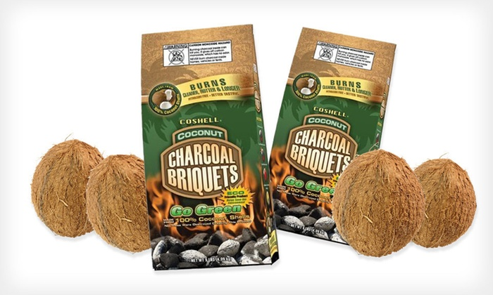 Coshell Coconut-Shell Charcoal: $12 for Two 9-Pound Bags of Coshell Coconut-Shell Charcoal ($39.98 List Price). Free Returns.