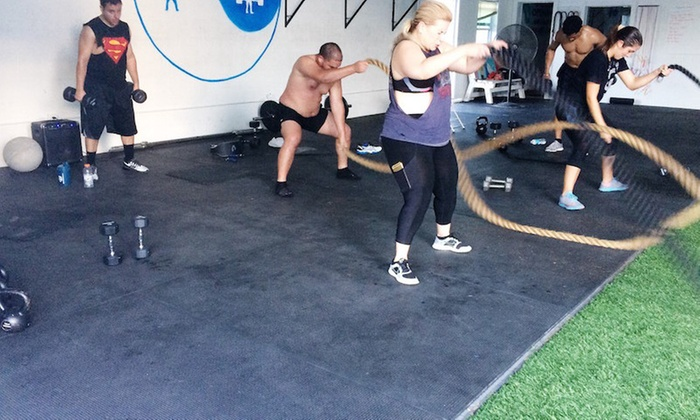Empower Lift - Multiple Locations: Four Weeks of Unlimited Boot-Camp Classes at Empower Lift (75% Off)