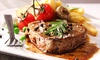 The Crown, Hardingstone - Hardingstone: Steak Meal With a Game of Pool For Two or Four from £10.95 at The Crown (Up to 46% Off)