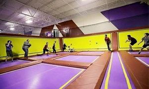 Jump N Rock: $18 for Two One-Hour Jump Passes at Jump N Rock ($24 Value)