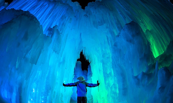 Ice Castles - Lincoln: Visit for Two or Four to the Ice Castle  (54% Off)