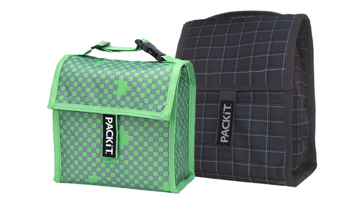 PackIt Freezable Lunch and Snack Bag Bundle: PackItFreezable Lunch and Snack Bag Bundle. Three Options Available.