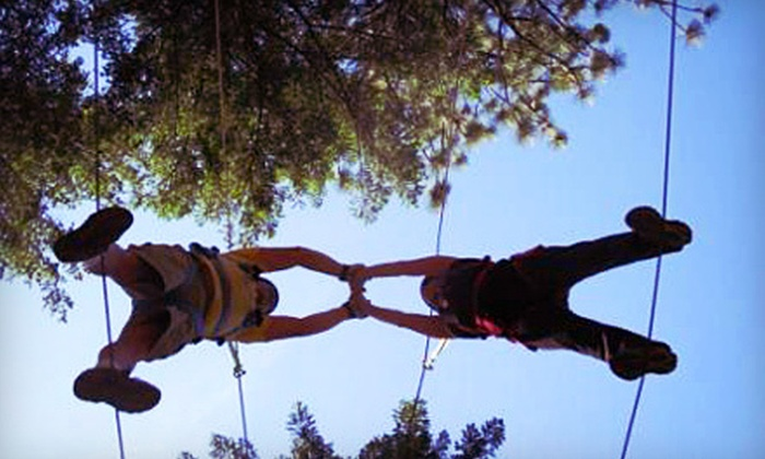 Adventure Dynamics - Airway Heights: $99 for a Four-Hour Couples Adventure Date Night with Dinner at Adventure Dynamics in Nine Mile Falls ($199 Value)