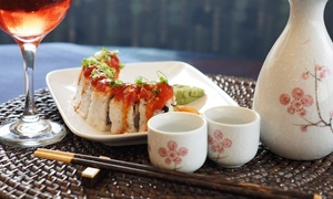 Seasons of Japan : $8 for $15 Worth of Sushi, Hibachi, and Teriyaki for Two or More at Seasons of Japan