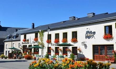 Ardennes : 1 à 3 nuits avec pdj, dîner, vin mousseux et formule VIP en option à l'Auberge le Relais pour 2 personnes