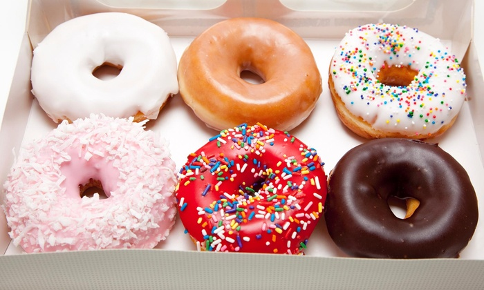 Fresh & Fancy Doughnuts - Monroe: One Small Coffee and Donut with Purchase of 6 Donuts at Fresh & Fancy Doughnuts