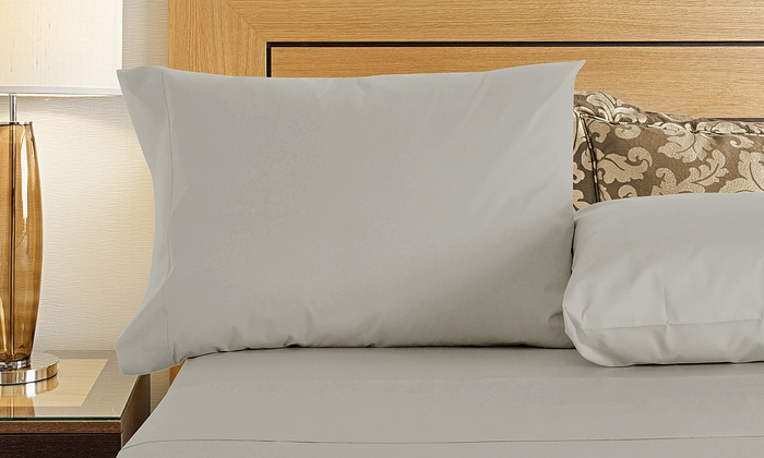 Hotel 800tc cotton sateen sheets groupon goods for Hotel design 800 thread count comforter