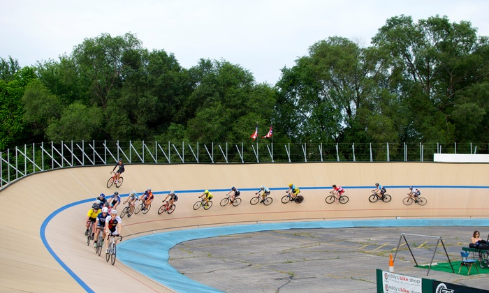 Cleveland Velodrome - Ohio's Only Outdoor Cycle Track - North Broadway: Up to 53% Off Open Riding Sessions  at Cleveland Velodrome