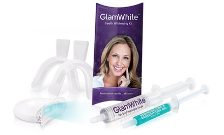 $29 for a Premium Home Teeth-Whitening Kit with Gel Refills for Life from GlamWhite ($175 Value)