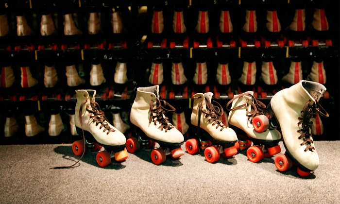 RollerCade - Southwest Detroit: Open Skate with Skate Rental, Pizza, and Soda for Two, Four, or Six at RollerCade (Up to 49% Off)