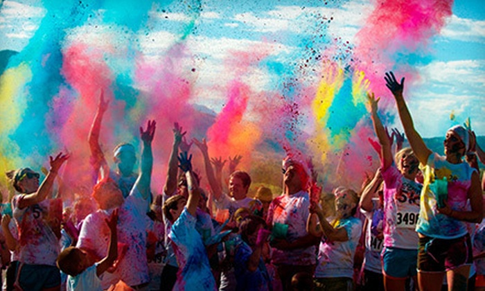 Color in Motion 5k - South East Dallas: Color in Motion 5K Race for One, Two, or Four on Saturday, November 17, at 9 a.m. (Up to 58% Off)