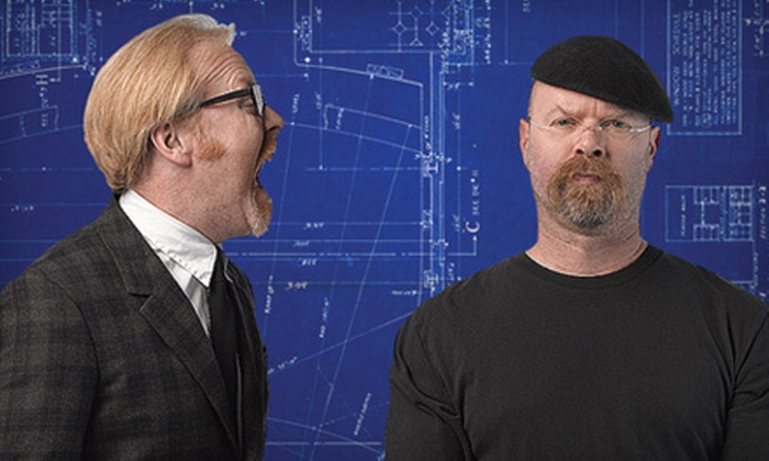 """MythBusters: Behind the Myths Tour - Abbotsford Centre: $30 to See """"Mythbusters: Behind the Myths"""" Live Show on March 17 at 8 p.m. (Up to $64 Value)"""