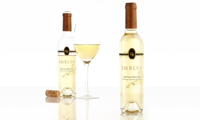 Four Half-Bottles of Emblem Sweet White-Wine Blend: Four Half-Bottles of Emblem Sweet White-Wine Blend