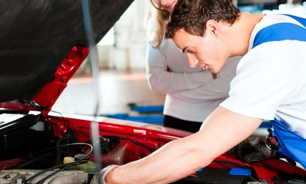 One Regular or Synthetic Oil Change with Inspection and Tire Rotation at Just Right Automotive (Up to 62% Off)