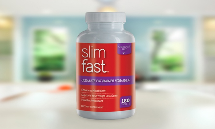 180 Count Slimfast Ultimate Fat Burner Weight Loss Supplement Tablets