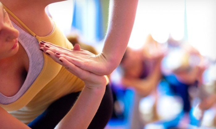 The Funky Buddha Yoga Hothouse - The Funky Buddha Yoga Hothouse: $20 for Three Drop-In Classes at The Funky Buddha Yoga Hothouse (67% Off)