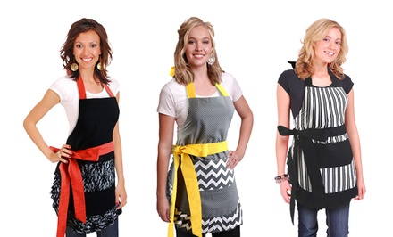 Flirty Aprons Vintage-Inspired Women's Aprons. Multiple Designs Available. Free Returns.