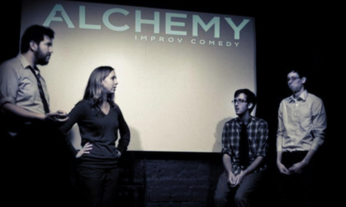 Alchemy Improv Comedy - Alchemy Comedy Theater: Friday-Night Alchemy Improv Comedy Show for Two, Four, or Six at Coffee Underground (Up to 67% Off)
