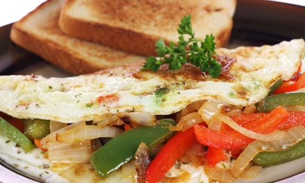 Breakfast Food at Sarussi Cafe Subs (60% Off). Two Options Available.