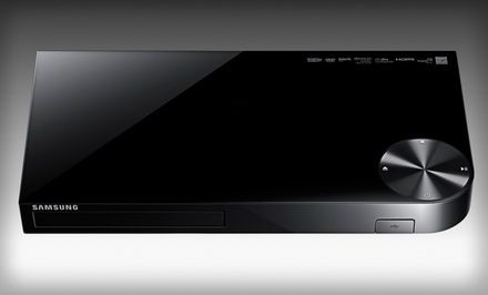Samsung Smart Blu-Ray Player with Built-in WiFi (RBBD-E5400) (Manufacturer Refurbished).