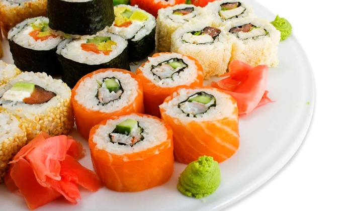 Blue Fin Sushi - Stapleton: Japanese Cuisine for Lunch or Dinner at Blue Fin Sushi (50% Off)