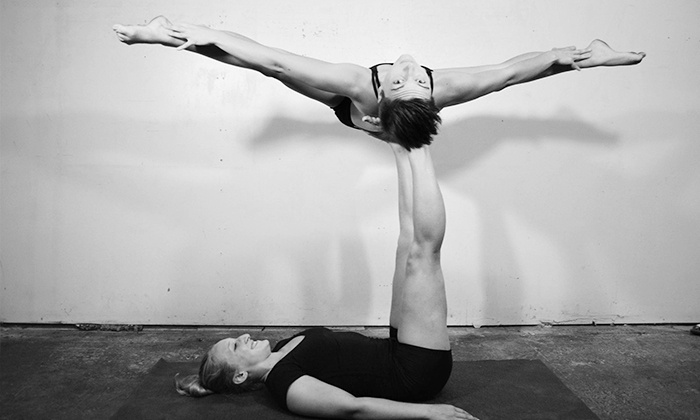 Acro Athens - Athens-Clarke County unified government (balance): 10 Acro-Yoga Classes or One Month of Unlimited Classes for a Family of Four at Acro Athens (Up to 70% Off)