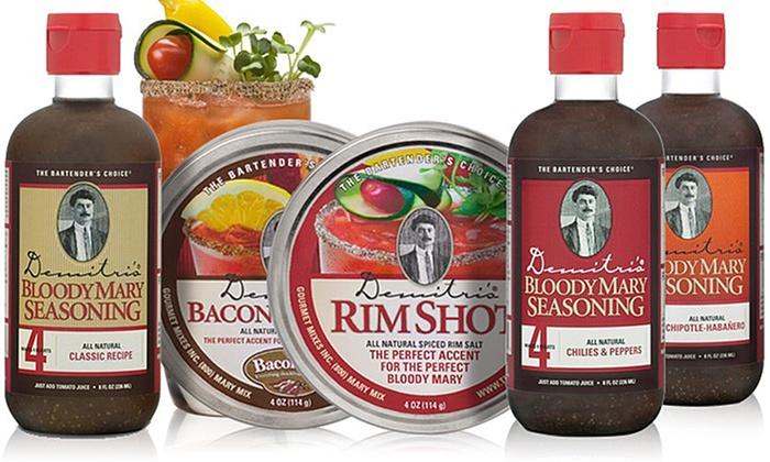 Demitri's Bloody Mary Mix Sets (3- and 5-Piece): Demitri's Bloody Mary Mix Sets (3- and 5-Piece)